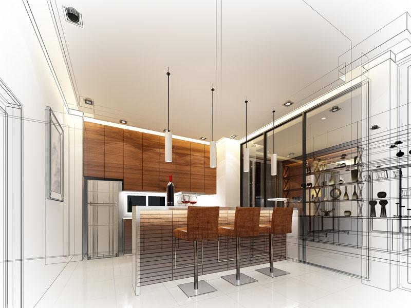 Wizualizacja mebli kuchennych